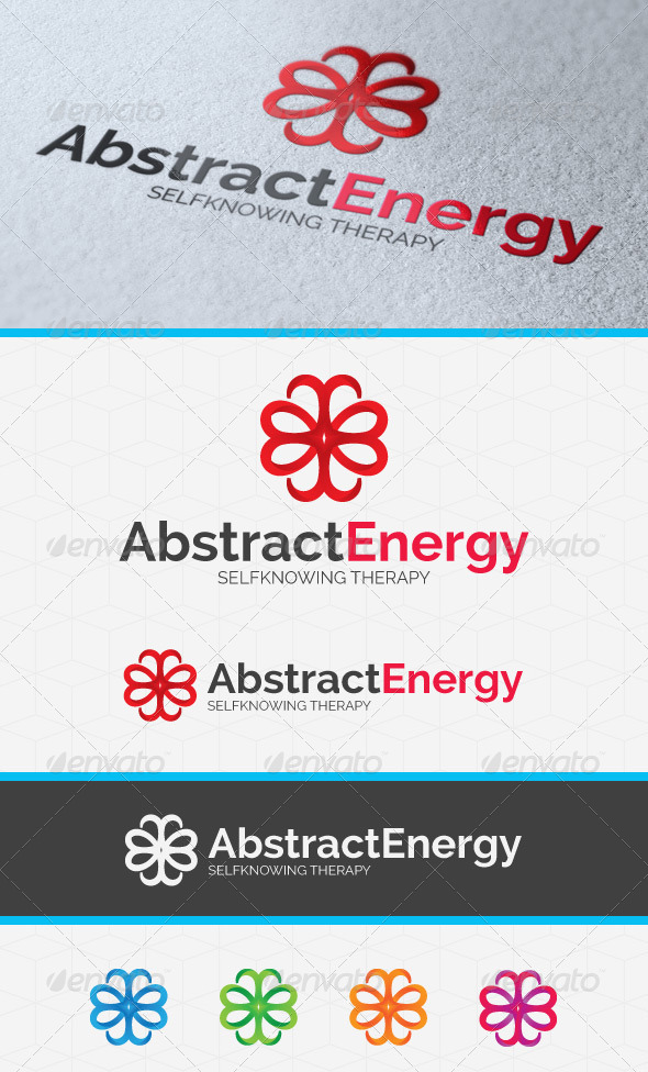 GraphicRiver Abstract Energy Logo Template 4189825