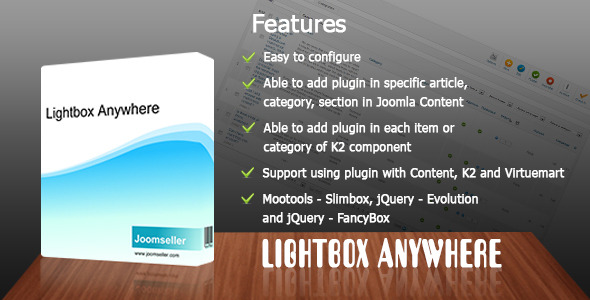 CodeCanyon Lightbox Anywhere 4164271