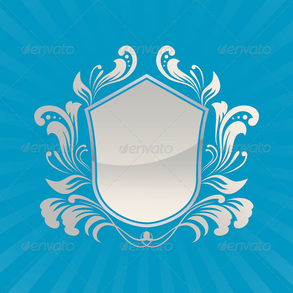 GraphicRiver Shield Ornament 4189921