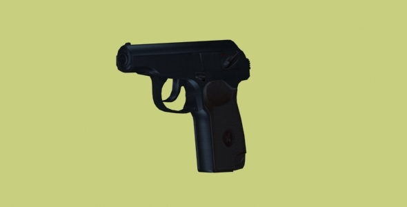 3DOcean Makarov Pistol 4189946