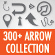 300+ Arrows Collection - GraphicRiver Item for Sale