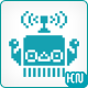 Retro Robot Logo Template - GraphicRiver Item for Sale