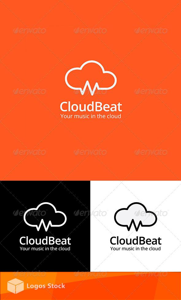 GraphicRiver Tech & Audio Logo Cloud Beat 4190650