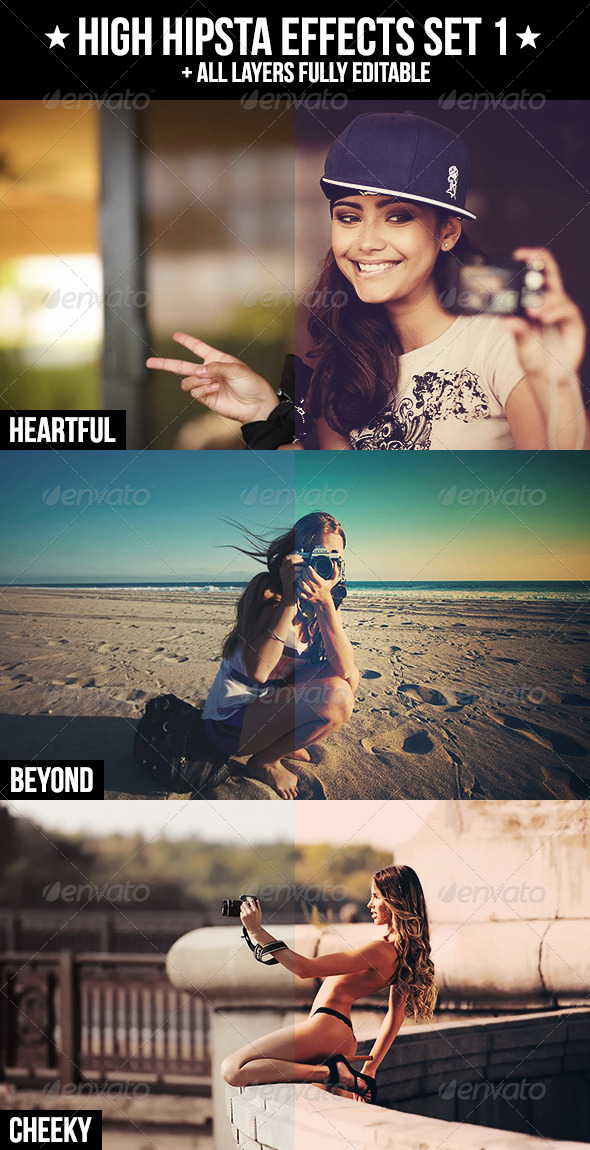 GraphicRiver High Hipsta Effects Set 1 4125614