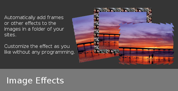Image Effects - CodeCanyon Item for Sale