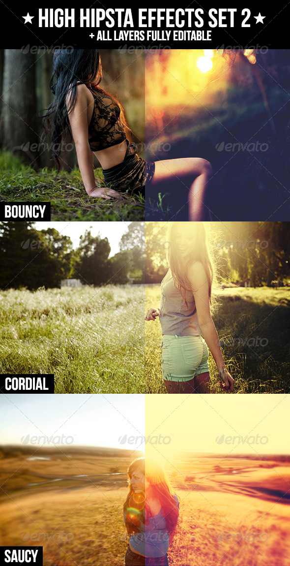GraphicRiver High Hipsta Effects Set 2 4191881