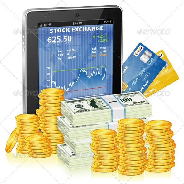 GraphicRiver Financial Concept 4191915