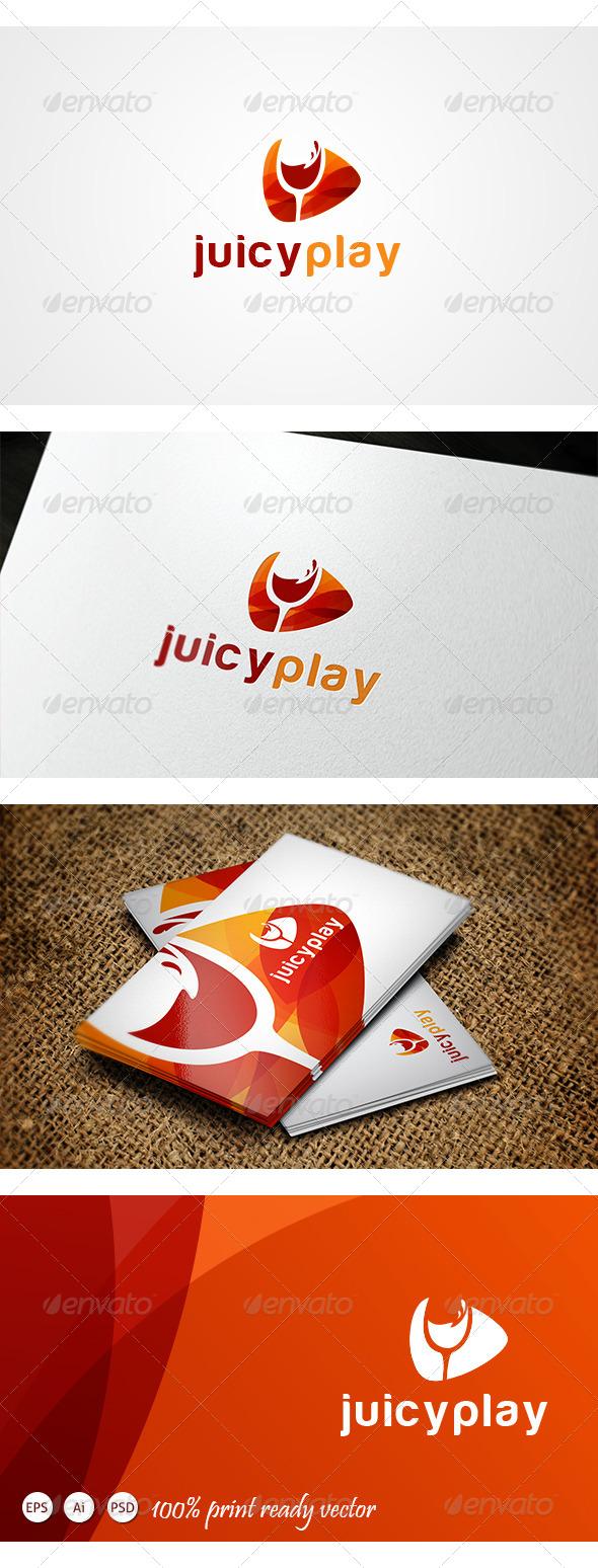GraphicRiver Juicy Play Logo 4192312