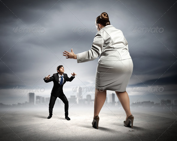 Business dispute - Stock Photo - Images