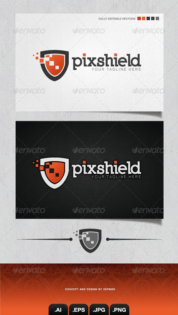 GraphicRiver Pixshield Logo 4198693