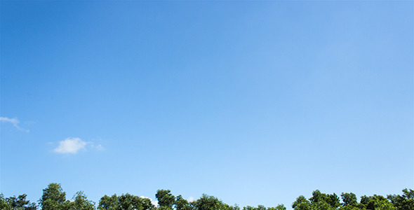 VideoHive Just A Blue Sky II Time Lapse 3K Resolution 4199200