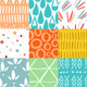 Abstract Doodle Patterns - GraphicRiver Item for Sale