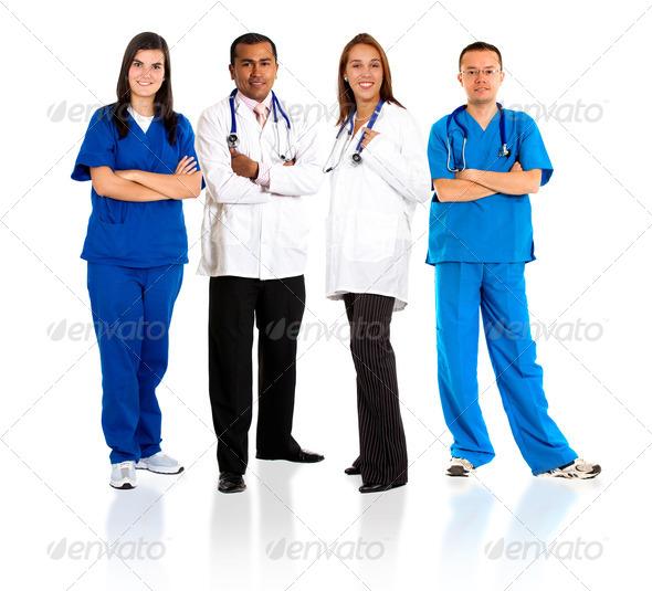 Stock Photo - PhotoDune group of doctors 454469