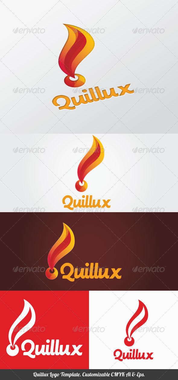 GraphicRiver Quillux Logo Template 4100811
