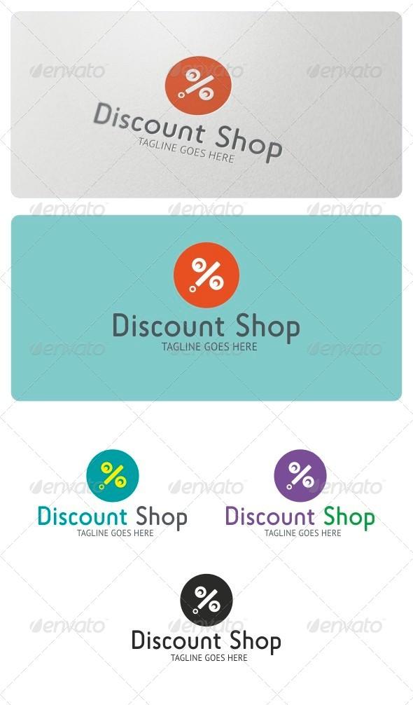 GraphicRiver Discount Shop Logo Template 4199829