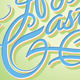 'Happy Easter' Hand Lettering (Vector) - GraphicRiver Item for Sale