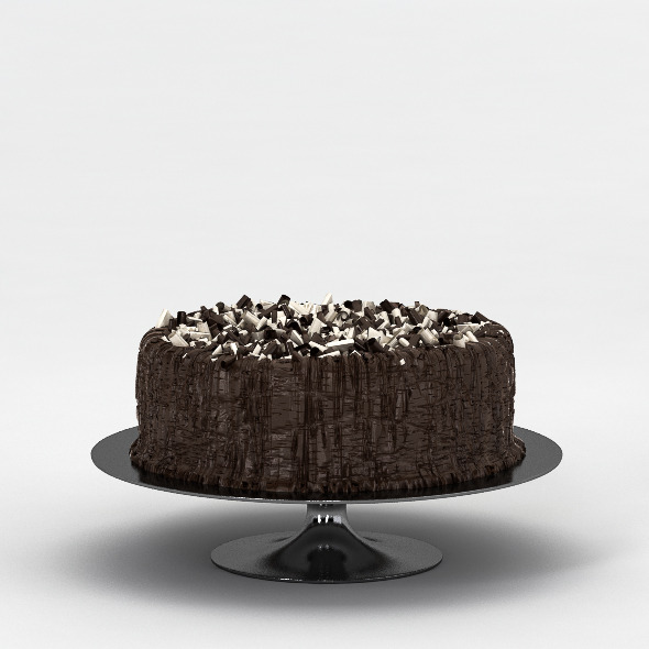 Chocolate Cake - 3DOcean Item for Sale