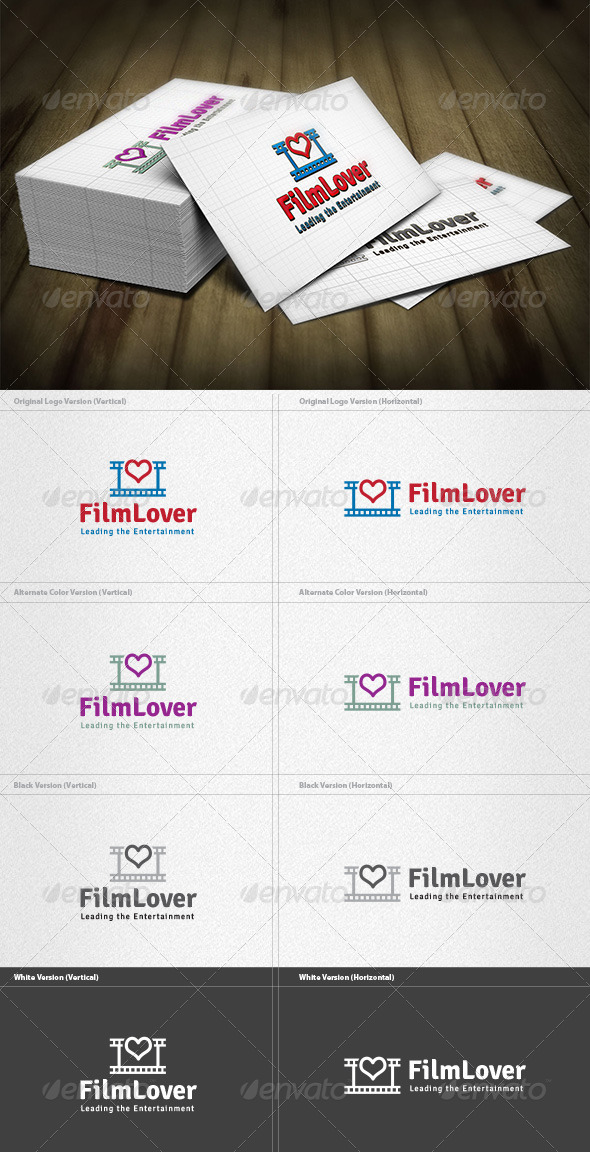 GraphicRiver Film Lover Logo 4200166