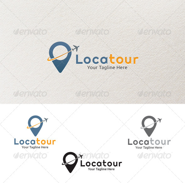 Locatour Logo Template