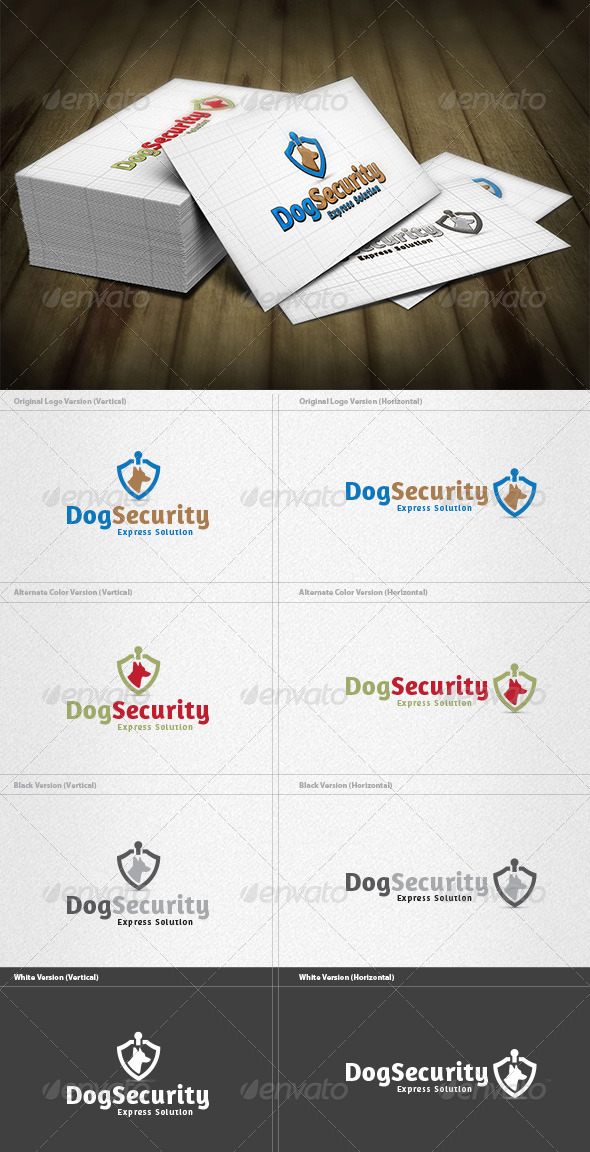 GraphicRiver Dog Security Logo 4200190