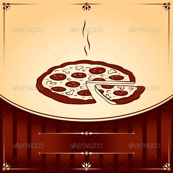 GraphicRiver Fast Food Hot Pizza 4200225
