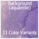 Abstract Background (Aquarelle)