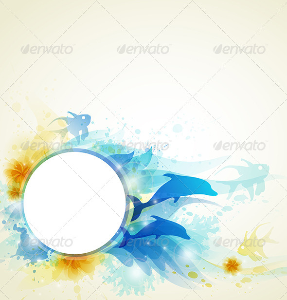 GraphicRiver Abstract Summer Background 4201071
