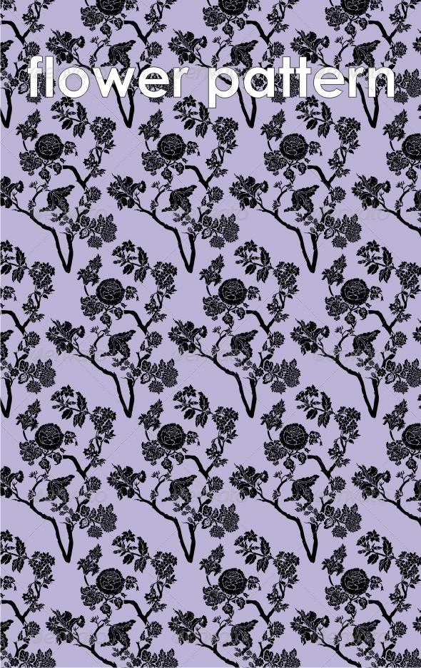 GraphicRiver Flower pattern 4184824