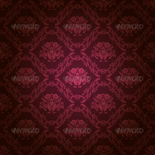 GraphicRiver Damask Seamless Floral Pattern 4202336