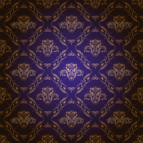 GraphicRiver Damask Seamless Floral Pattern 4202488