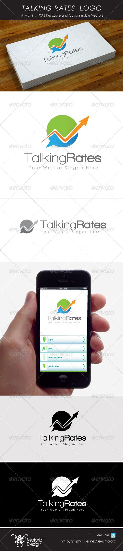 Talking Rates Logo