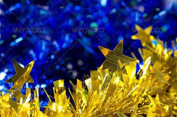 PhotoDune golden christmas background 4253956