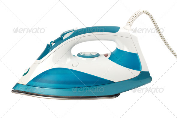PhotoDune Steam iron isolated on white background 4253961