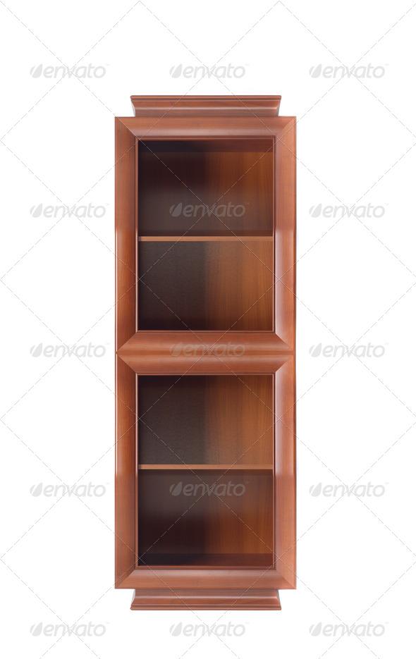 PhotoDune bookcase isolated 4253975