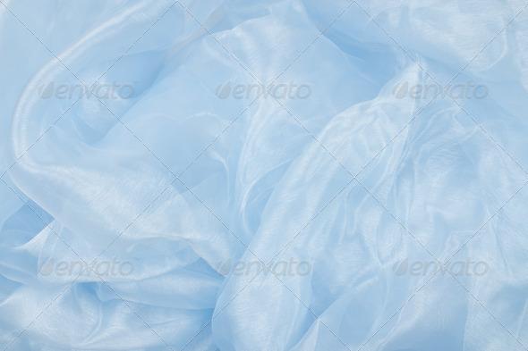 PhotoDune blue satin background 4253980