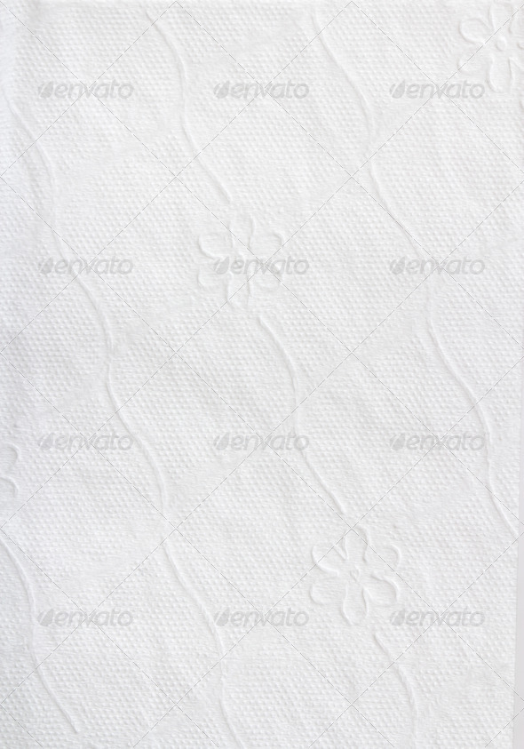 PhotoDune Texture of white tissue paper 4253981