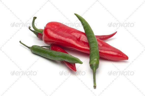 PhotoDune Chili pepper isolated on white background 4253991