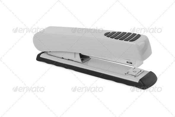 PhotoDune Stapler on a white background 4254033
