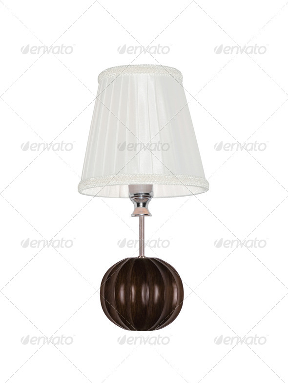 PhotoDune Vintage table lamp isolated 4254046