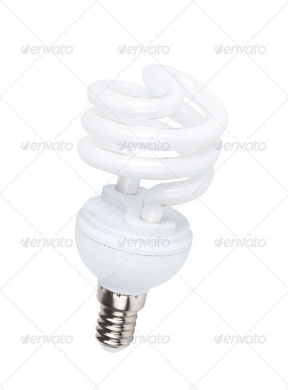 PhotoDune Fluorescent light bulb 4254049