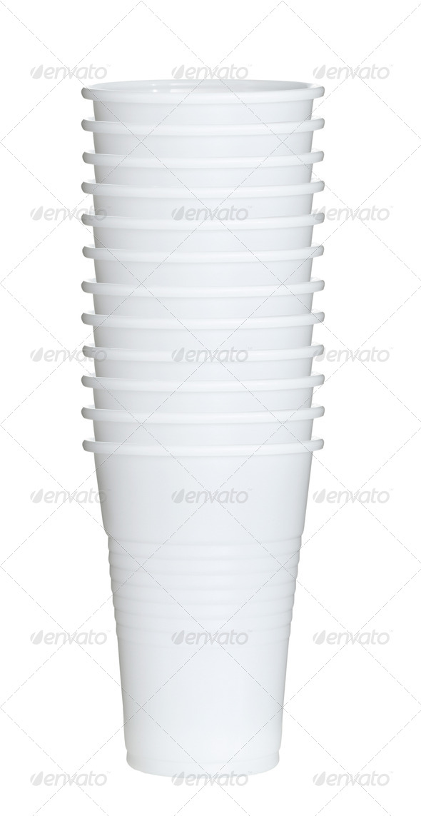 PhotoDune White paper coffee cups 4254053