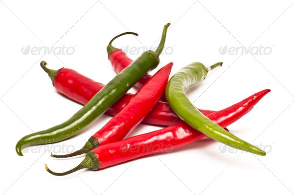PhotoDune Chili pepper isolated on white background 4254364