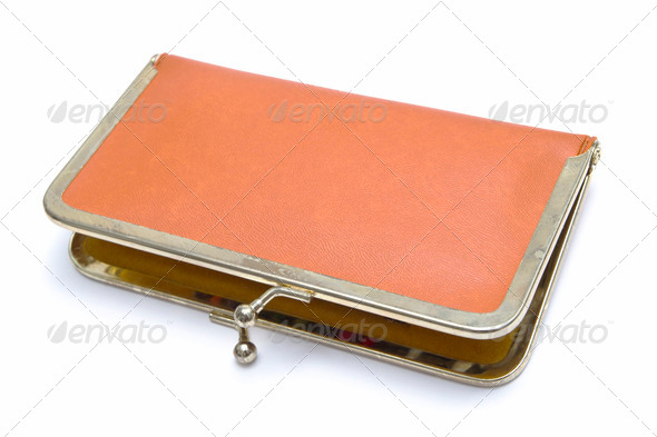 PhotoDune Old purse 4213546