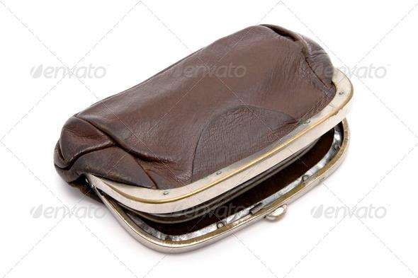 PhotoDune Old purse 4213560