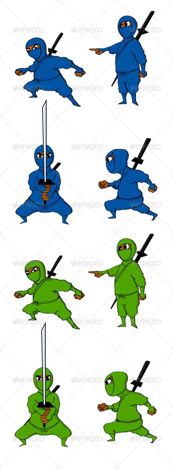 GraphicRiver Ninjas 4096942