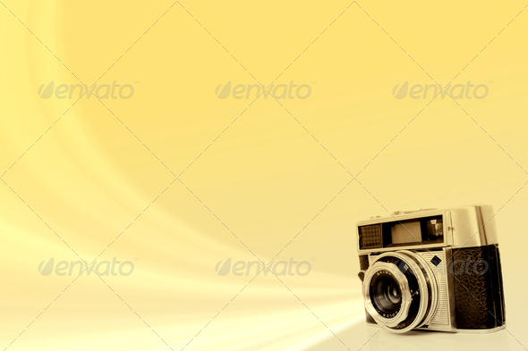 Old Camera - Stock Photo - Images