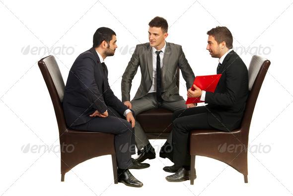 PhotoDune Meeting of business men 4204836