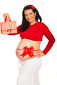 Pregnant woman with gift - PhotoDune Item for Sale
