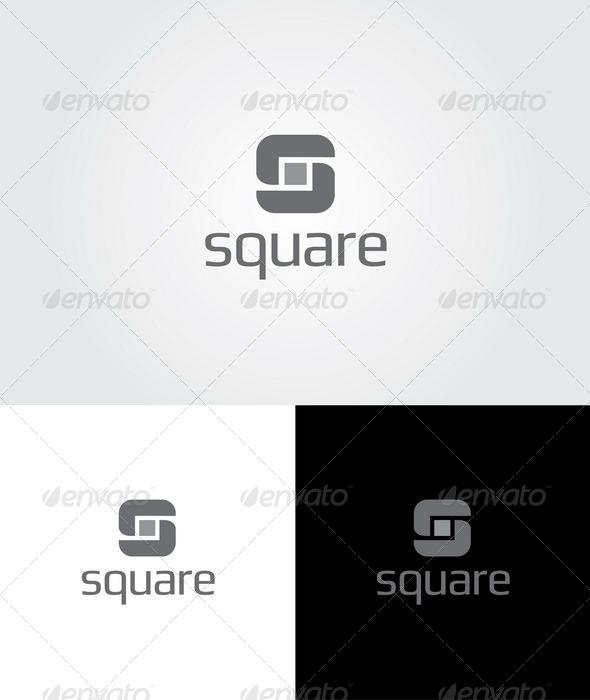Square Logo Template Graphicriver