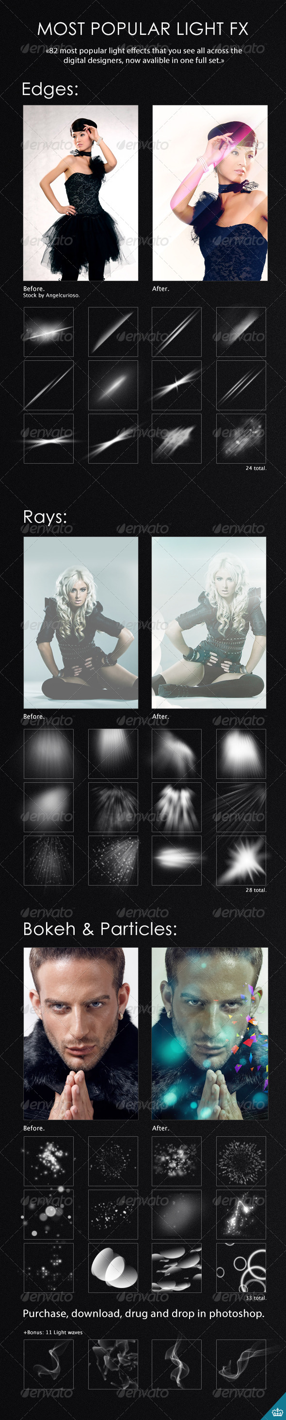 GraphicRiver 82 Light Effects 4175933